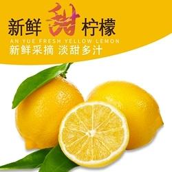 柠檬2只装  约300g